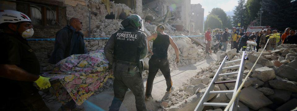 Terremoto centro Italia - Raccolta fondi e materiale per le popolazioni colpite