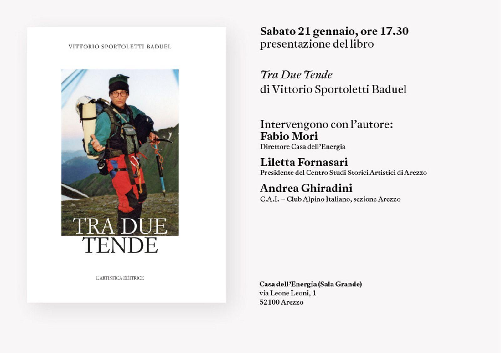 Sabato 21 gennaio 2017 Presentazione del libro