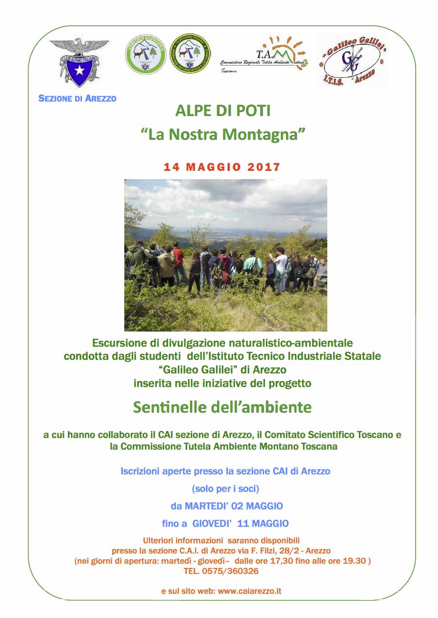 14 maggio 2017  Alpe di Poti