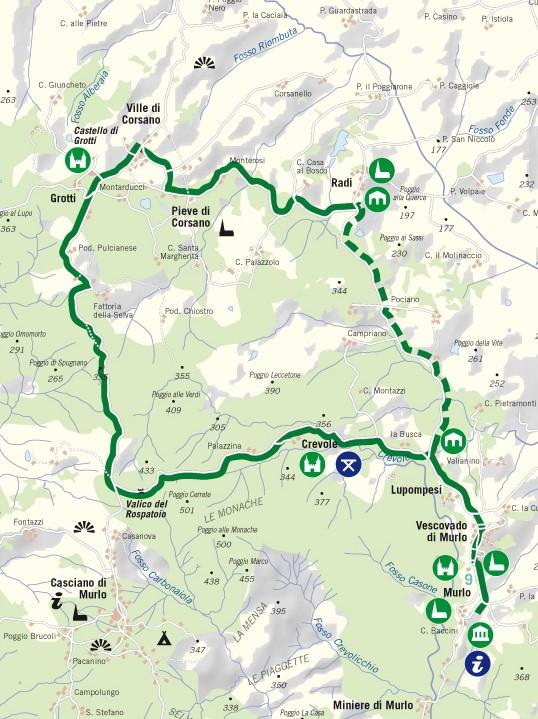 11 giugno 2017 Cicloescursione fra Val di Merse e Crete Senesi