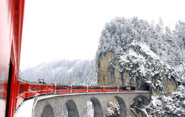 ***ANNULLATA*** 8-9-10 dicembre 2017  Trenino rosso del Bernina e mercatini di Natale