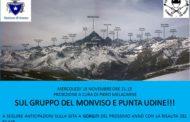 15 novembre 2017  Videoproiezione Il Gruppo del Monviso e Punta Udine