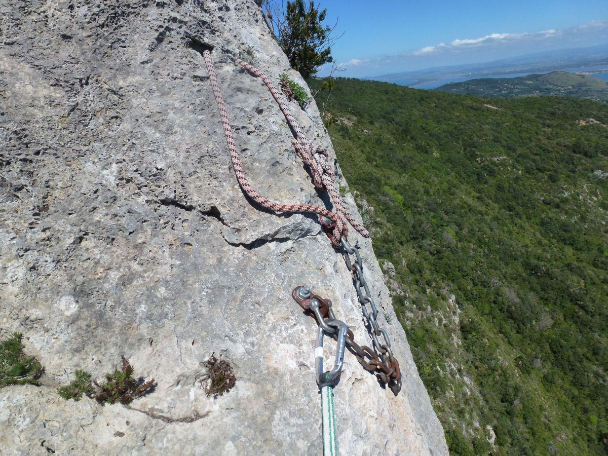 8 aprile 2018 Uscita di Arrampicata sul monte Argentario Settore Canne d'Organo