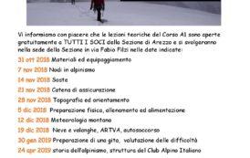 CORSO DI ALPINISMO A1