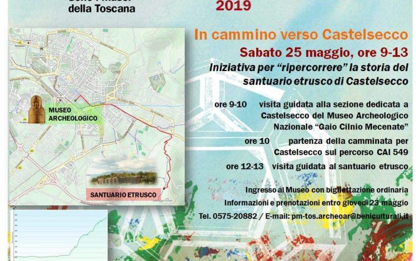 SABATO 25 MAGGIO: IN CAMMINO VERSO CASTELSECCO