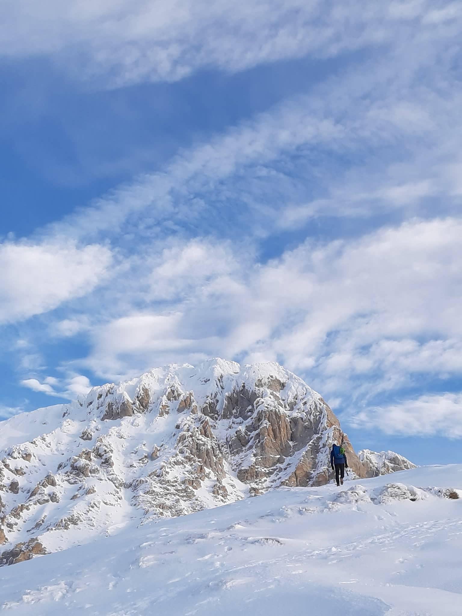 ANNULLATA: 14-15 Marzo 2020: GRAN SASSO VETTA OCCIDENTALE 2912 m