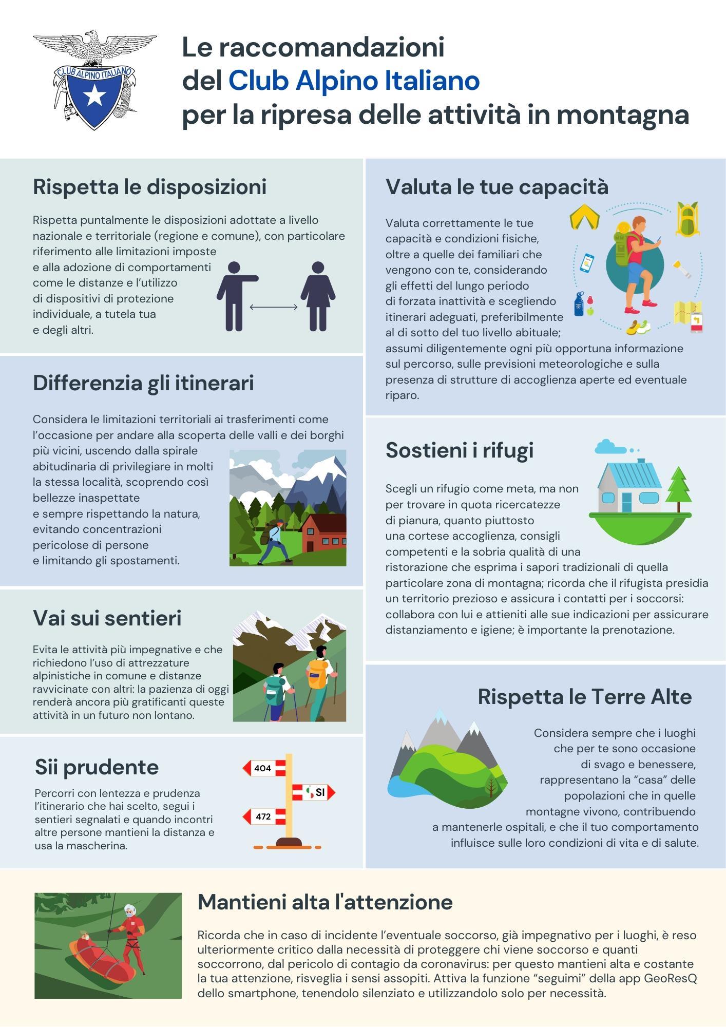COMUNICATO STAMPA #ClubAlpinoItaliano