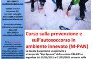 CORSO SULLA PREVENZIONE E AUTOSOCCORSO IN AMBIENTE INNEVATO