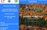 TERAPIA FORESTALE: EVENTO ON LINE MERCOLEDI' 31/03 ORE 21